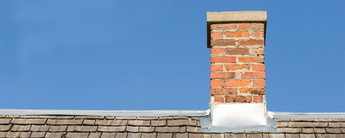 Chimney flashing from Whites Chimney Specialists