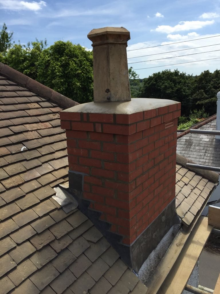 New chimney stack